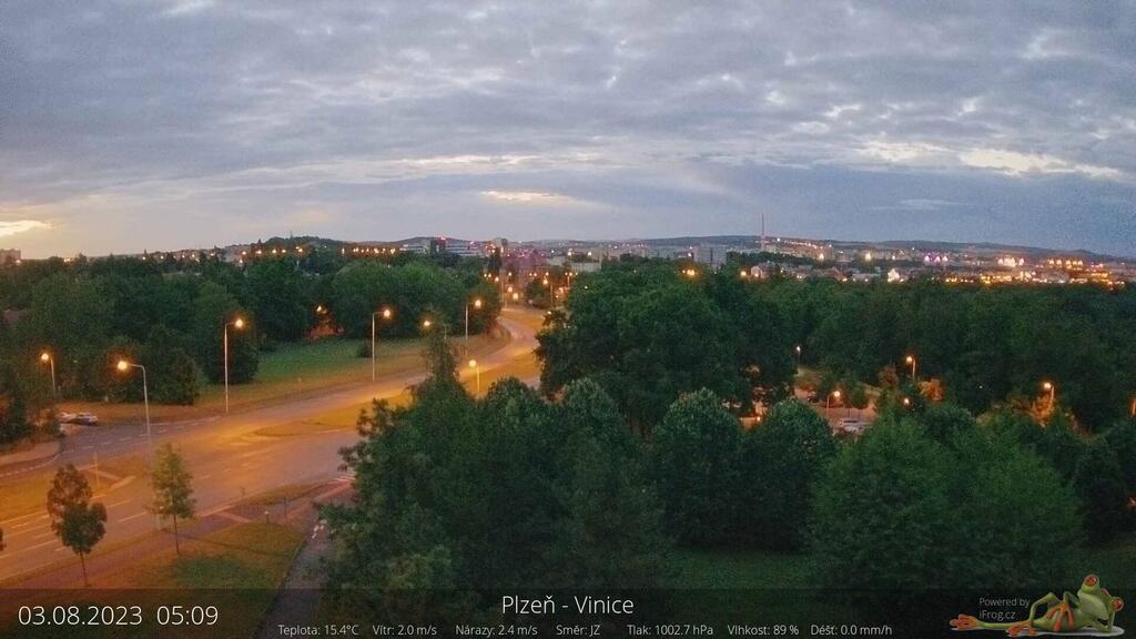 Webcam Plzeň - Vinice